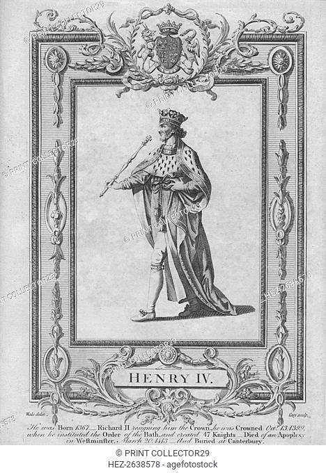 'Henry IV', 1783. Artists: Samuel Wale, John Cary
