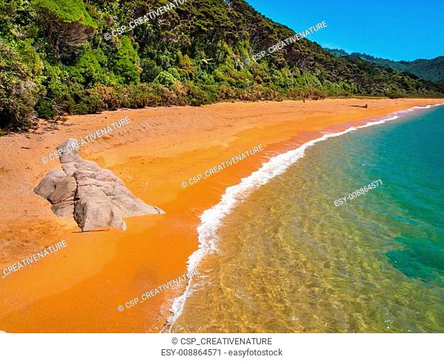 Secluded Beach New Zealand