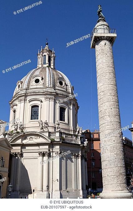 Santissimo Nome di Maria al Foro Traiano & Trajans column