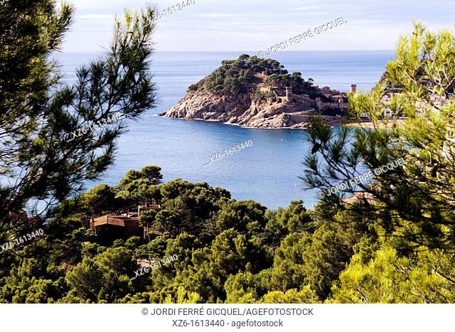 Tossa de Mar, Costa Brava, Catalonia, Spain, Europe