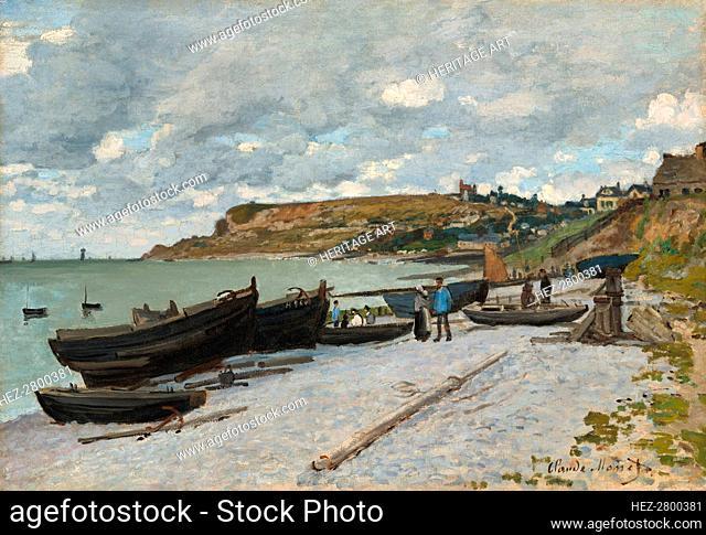 Sainte-Adresse, 1867. Creator: Claude Monet