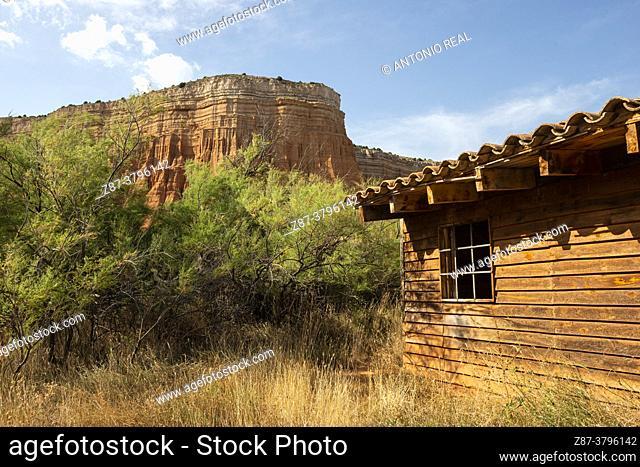 The Rambla de Barrachina and The Red Canyon of Villaespesa- Teruel