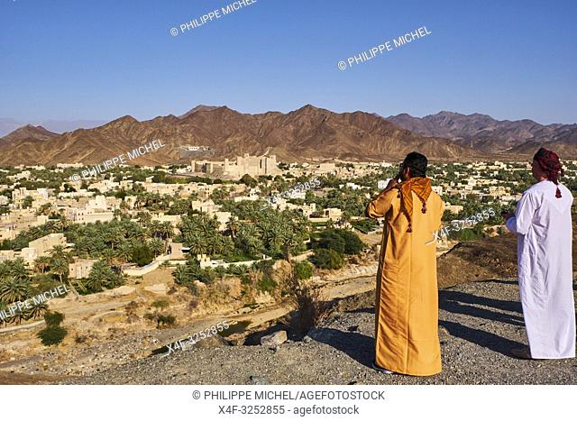 Sultanate of Oman, Ad-Dakhiliyah Region, Bahla Fort, UNESCO World Heritage Site