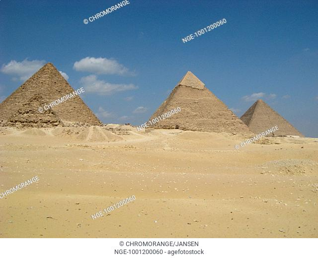 Egypt pyramids of Gizeh