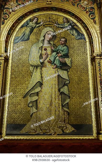 capilla de nuestra señora de La Antigua, Mosque-Cathedral of Córdoba, Andalucia, Spain