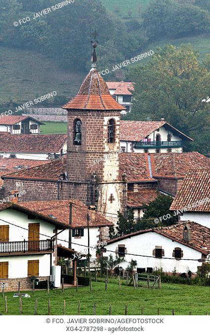 Erratzu. Baztán - Navarra. Pirineos. Spain