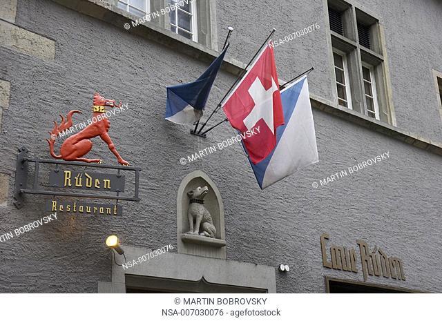 Rüden restaurant in Zurich