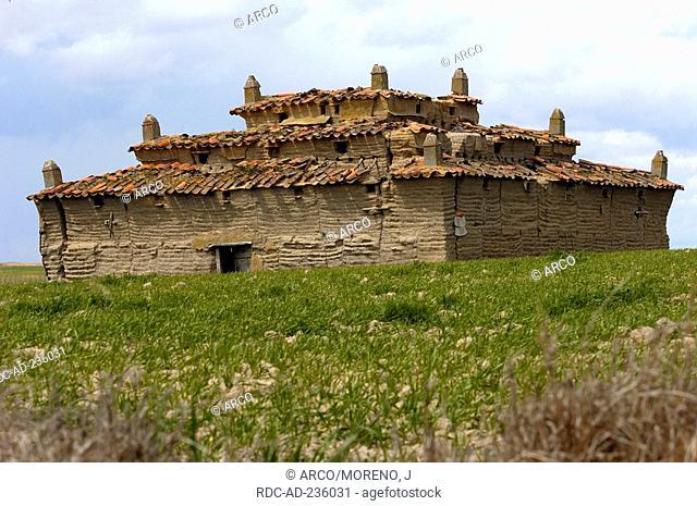 Old dovecote, Villafafila, Zamora, Castile-Leon, Spain