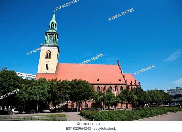 Sankt Marienkirche am Alexanderplatz