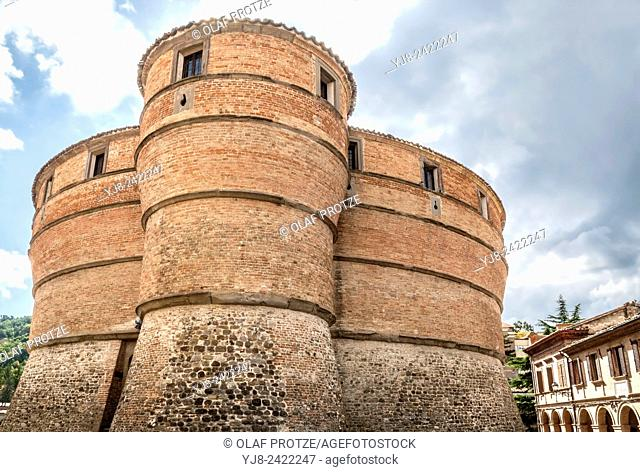 Ubaldinesca Fortress of Sassocorvaro, Sassocorvaro, Marche, Italy