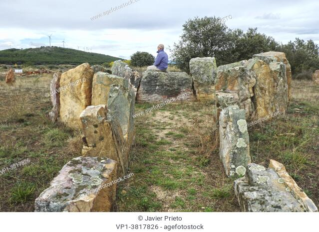 Dolmen of the Casetón de los Moros. Arrabalde. Benavente and the Valles region. Zamora. Castile and Leon. Spain