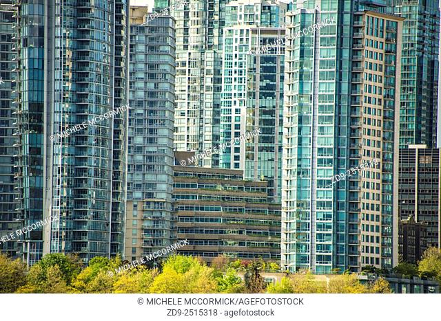 Vancouver's crowded skyline