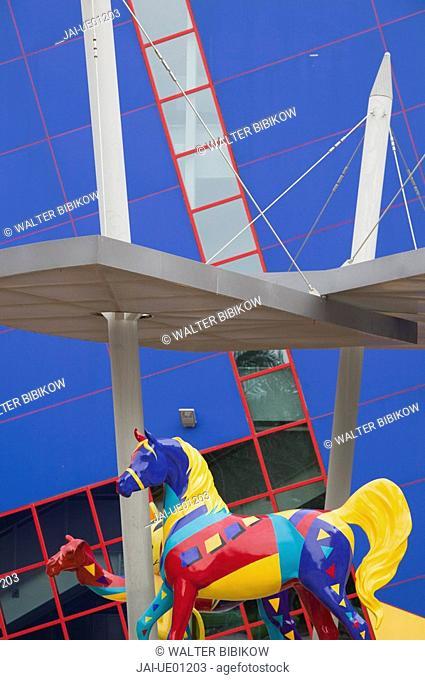 UAE, Dubai, Bur Dubai, Children's City Museum /