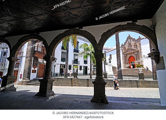 Plaza de España. Santa Cruz de La Palma. La Palma. Canary Islands. Spain