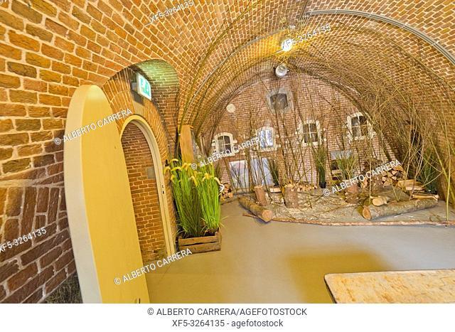Fort Altena, Altena Fortress, Nieuwe Hollandese Waterlinie, Werkendam, Holland, Netherlands, Europe