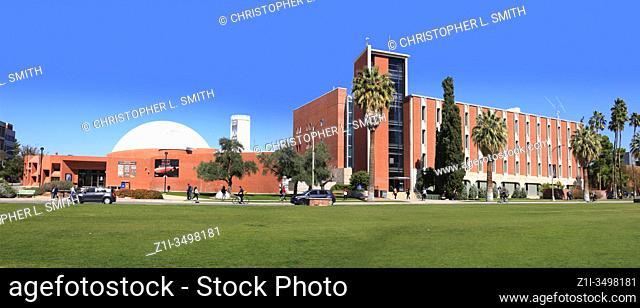 The Flandrau Science Center and Planetarium on the University of Arizona Campus in Tucson