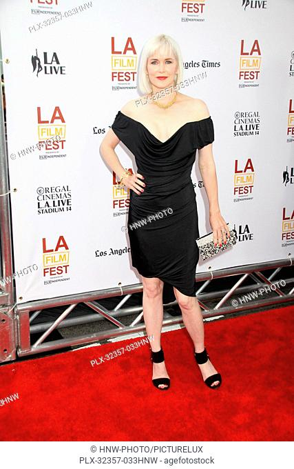 Gren Wells 06/11/2014 20th Anniversary Los Angeles Film Festival Opening Night The North American Premiere of Snowpiercer held at The Regal Cinemas L
