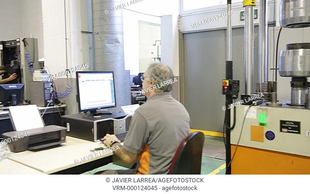 Mechanical Testing Laboratory. Technological Services to Industry. Tecnalia Research & Innovation, Donostia, San Sebastian, Gipuzkoa, Basque Country, Spain