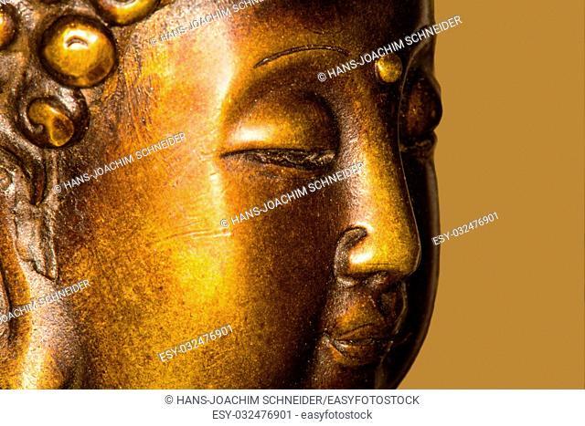 Buddha in deep meditation