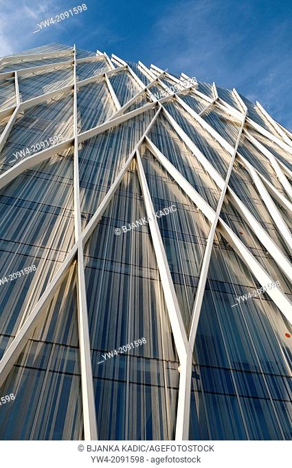 Telefonica Tower, Forum, Barcelona, Catalonia, Spain
