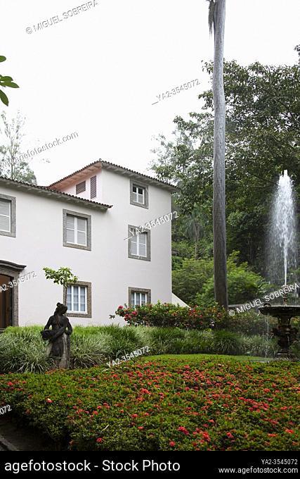 Casa Roberto Marinho Art Gallery in Cosme Velho in Rio, Brazil