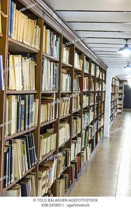 Biblioteca de Cultura Artesana,Centre Cultural la Misericòrdia ,Palma de Mallorca, Mallorca, Balearic islands, spain