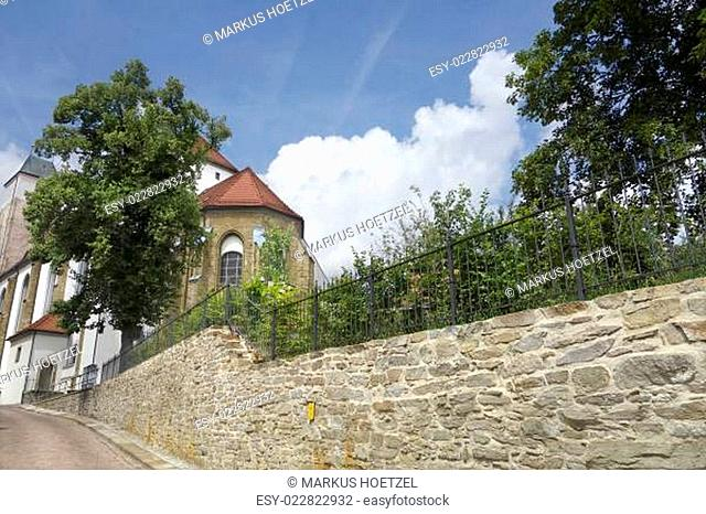 Nikolaikirche in Freiberg / Sachsen