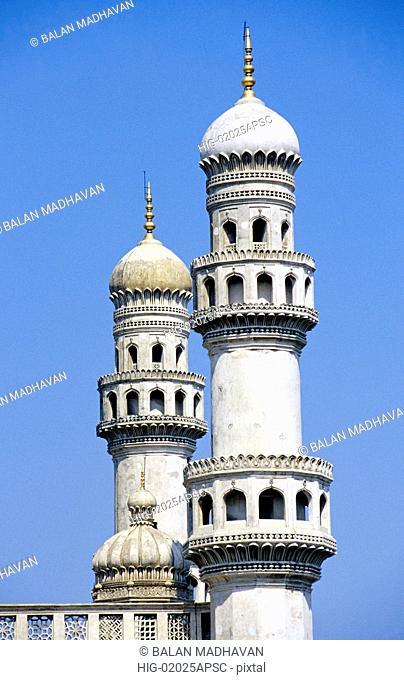 MINARETS OF CHARMINAR, ANDHRA PRADESH, INDIA