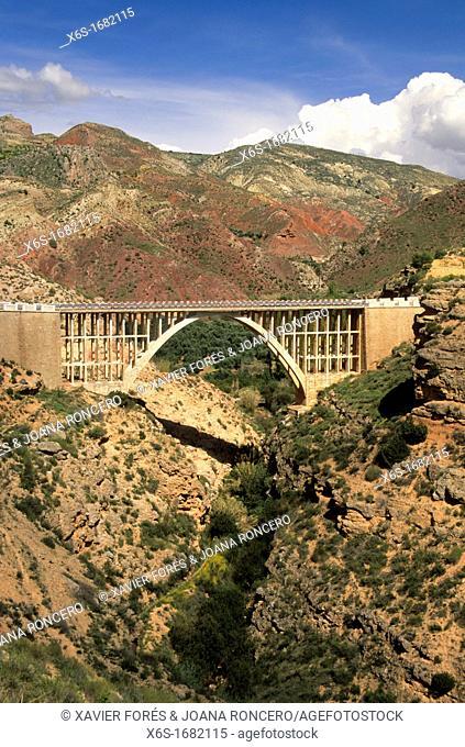Bridge over river Turrillas, Natural park of Cazorla, Segura y las Villas, Jaén, Spain