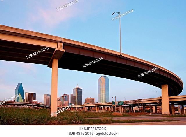Interstate Flyover in Dallas