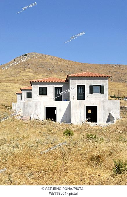 New holiday houses, Samos, Greece