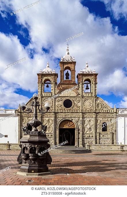 San Pedro Cathedral, Maldonado Park, Riobamba, Chimborazo Province, Ecuador