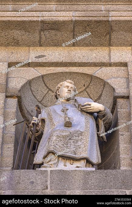 Real Monasterio de San Lorenzo de El Escorial. Madrid. España