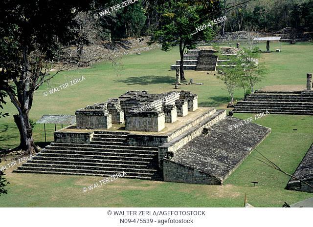 Copan ruins. Honduras