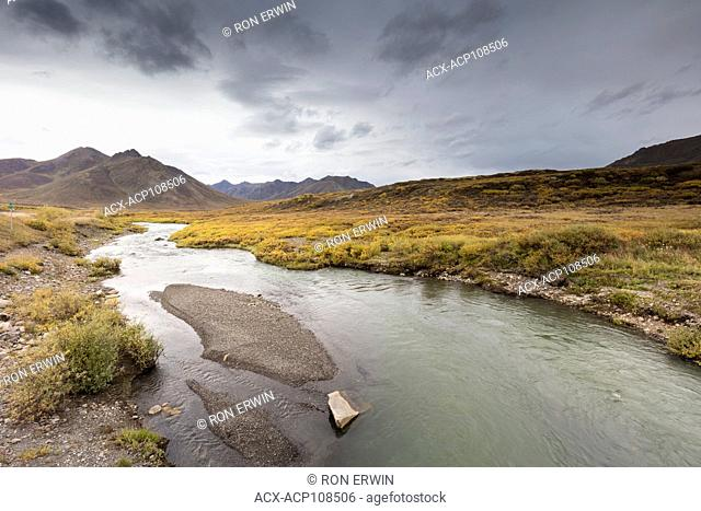 East Fork Blackstone River, Tombstone Territorial Park, Yukon, Canada