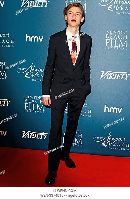 Newport Beach Film Festival - annual honours at Rosewood London, Holborn, London Featuring: Thomas Brodie-Sangster Where: London