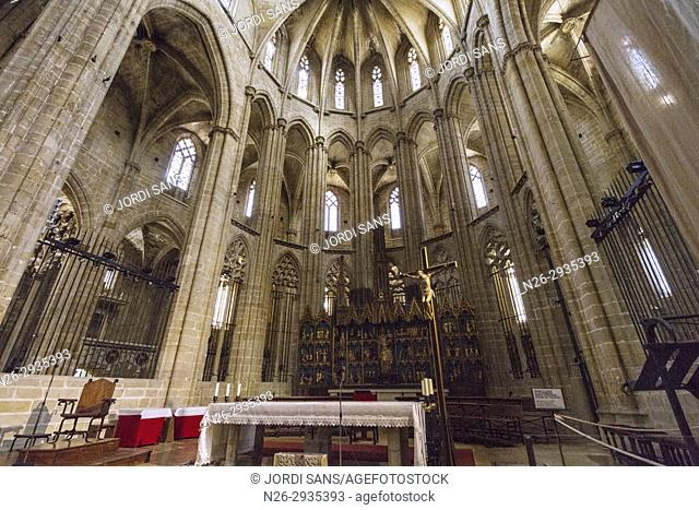 Santa Maria Cathedral. Tortosa. 1597. Gothic and baroque. High altar