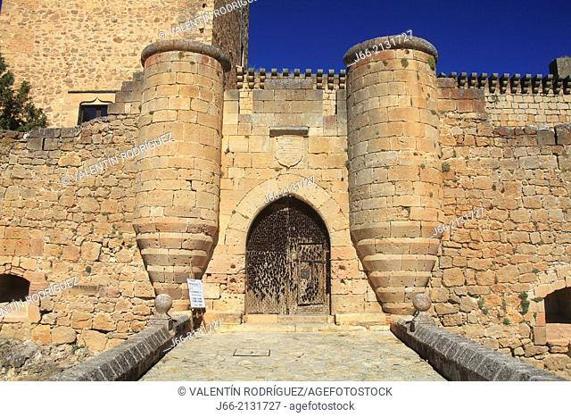 castle of Pedraza. Segovia