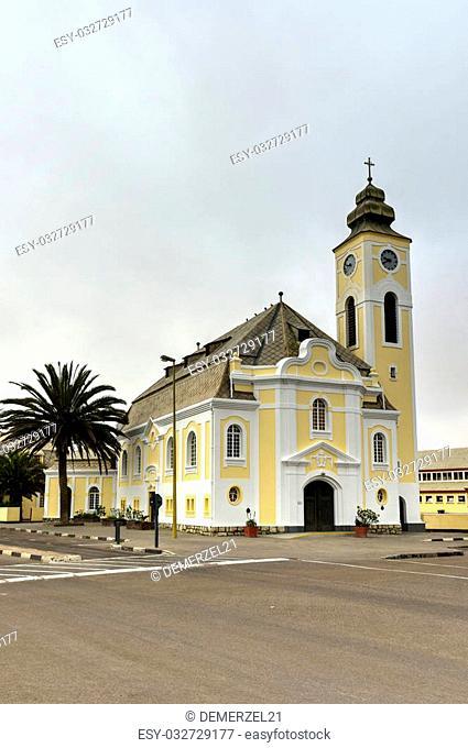 The German Evangelical Lutheran Church in Swakopmund, Namibia
