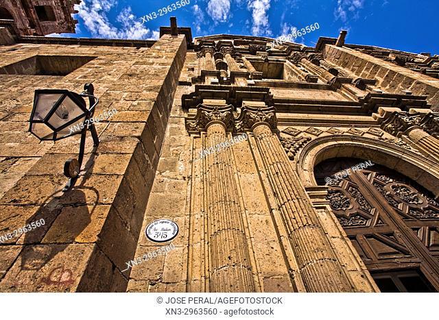 Templo de Las Monjas (Sagrario Metropolitano), Temple of the Nuns, convent, church, Av Francisco I. Madero Street, Historical Center of the city of Morelia City