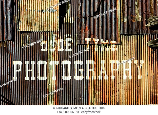 photographic studio, Silverton, Colorado, USA