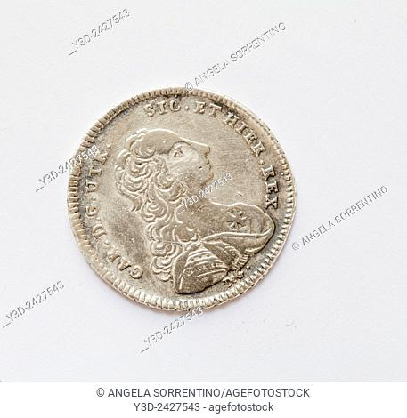 Naples Kingdom Ancient Coin