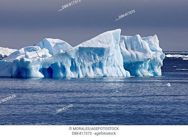 Iceberg in Scotia Sea, Antarctica