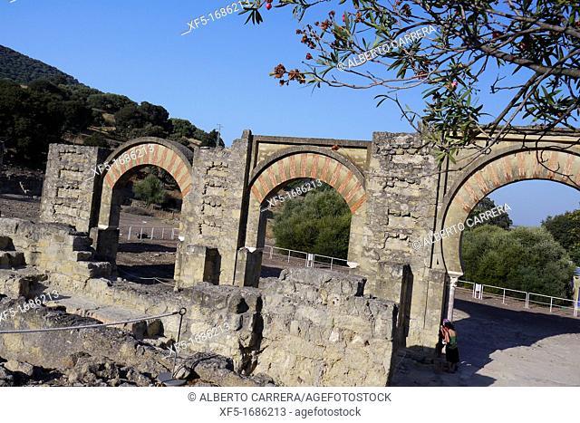 Madinat al-Zahra, Medina Azahara, Portico, Medieval Archaeological Complex, Córdoba, Andalusia, Spain, Europe