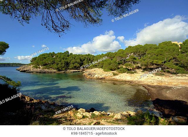 Sa Barca Trencada Parque natural de Mondragó  Santanyi  Migjorn Mallorca Illes Balears España