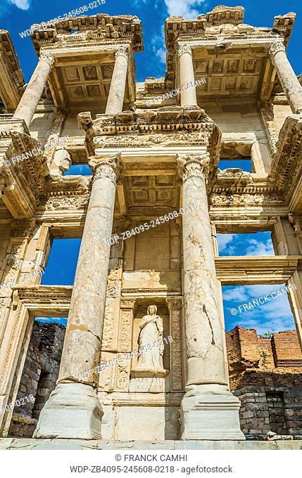 Ephesus ancient greek ruins in Anatolia Turkey