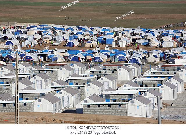 refugee camp in Northern Iraq