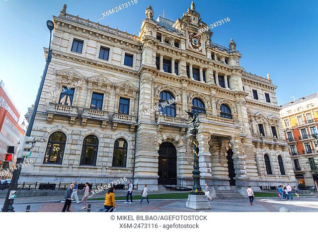Palacio Foral (Biscayan government). Bilbao. Biscay, Spain, Europe