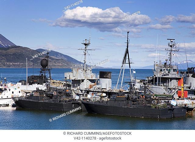 Ushuaia Naval Base, Tierra del Fuego, Patagonia, Argentina