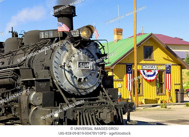 The Cumbres And Toltec Scenic Railroad Is A Coal Fired, Steam Powered Narrow Gauge Railroad That Travels From Chama, New Mexico To Antonito, Colorado